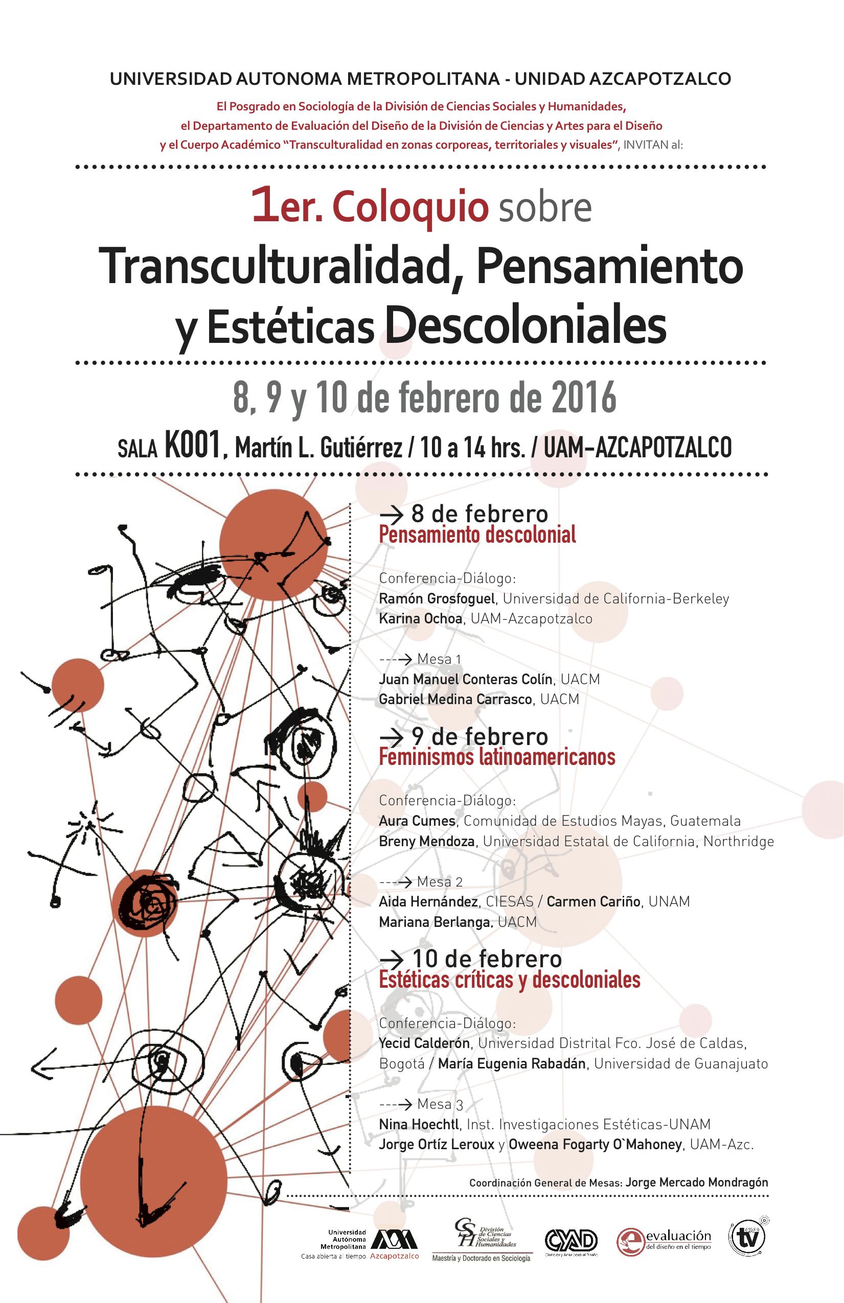 Cartel Coloquio_ transculturalidad